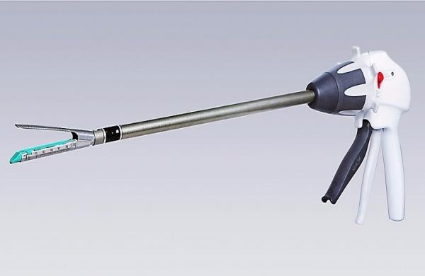 Disposable endoscope cutting anastomat