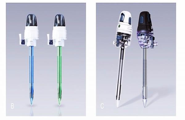Disposable laparoscopic trocar B/C Series